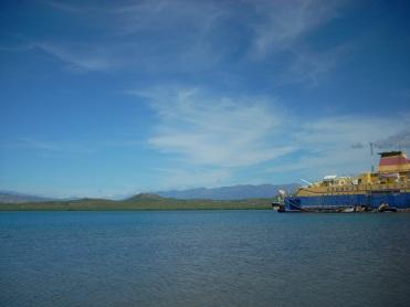 Puerto Hermoso, Las Calderas