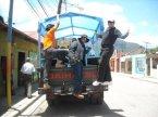 Camiones Safari que nos llevan al Valle