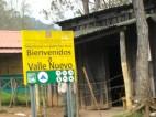 Entrada al Parque Nacional Valle Nuevo