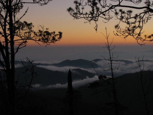 Neblina Pico Duarte