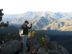 Llegando a la Cima Pico Duarte