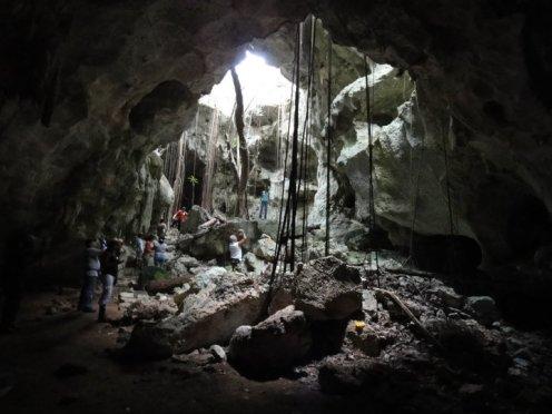Cueva del Puente, Parque Nacional del Este
