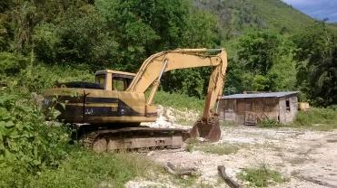 Maquinaria pesada para mineria
