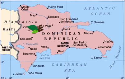 jarabacoa map